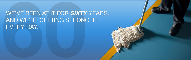 We've been at it for sixty years. And we're getting stronger every day.